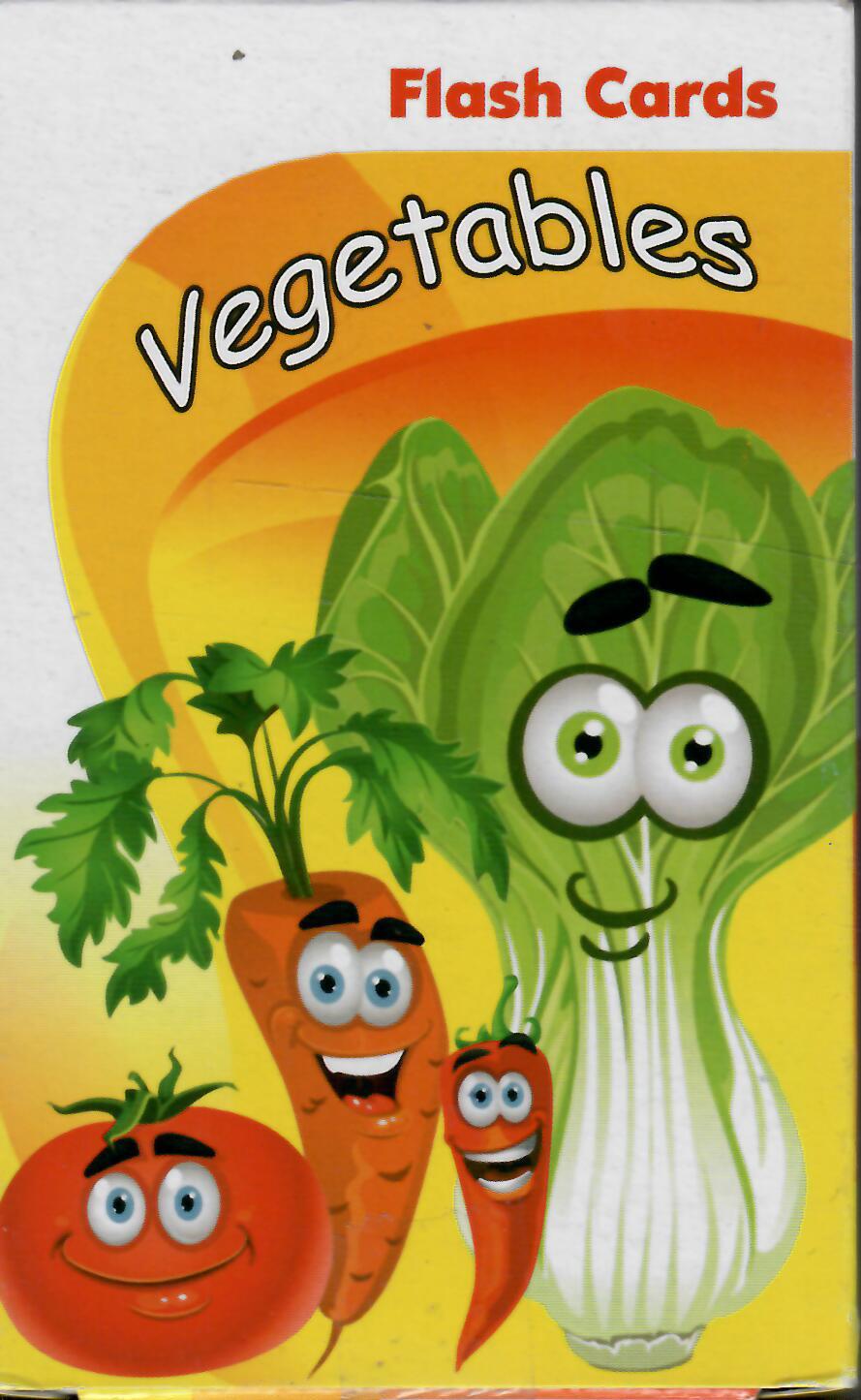 فلش کارت دو زبانه آموزش سبزي ها(انگليسي-فارسي)