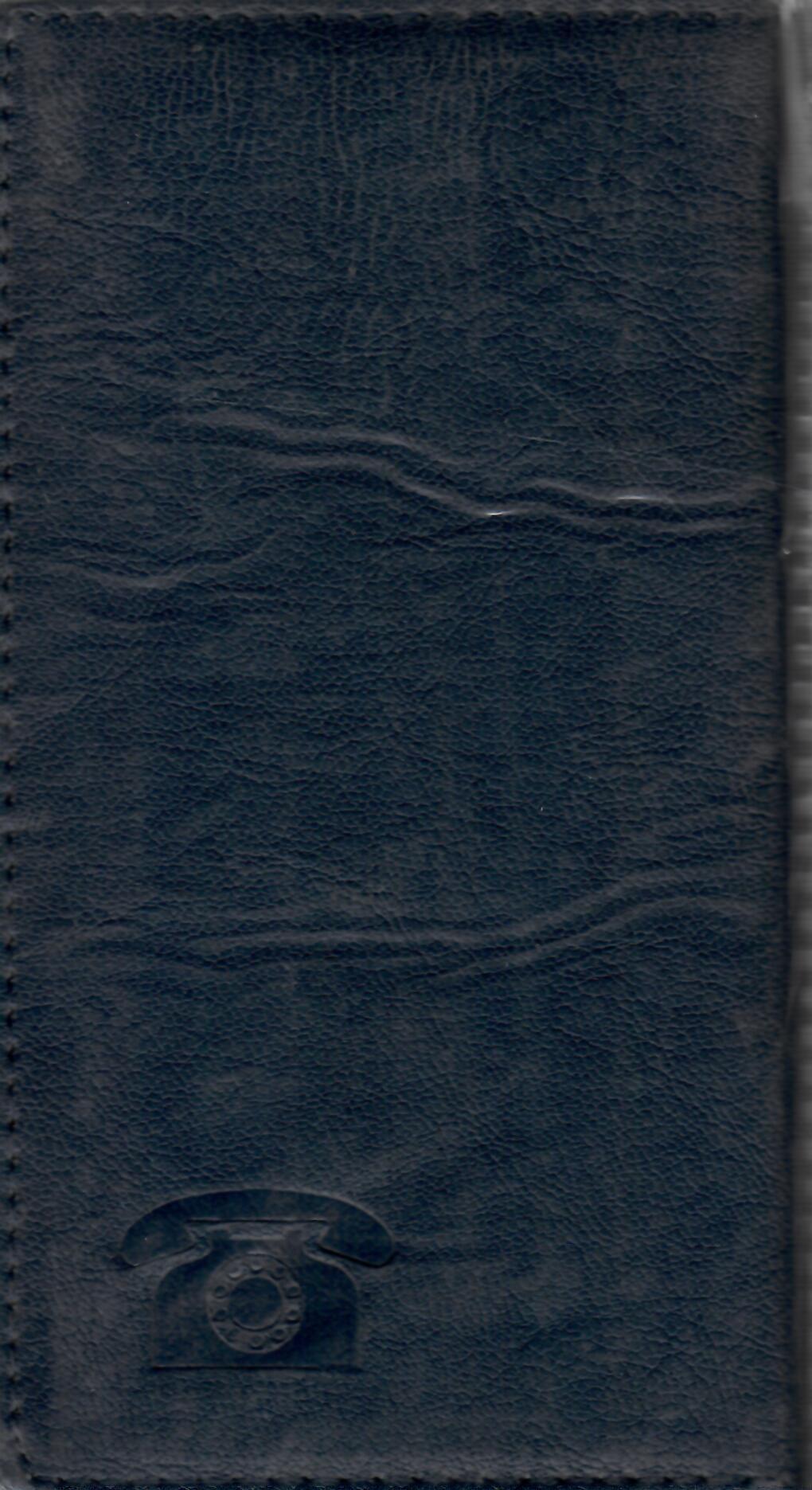 دفتر تلفن(پالتويي-چرم)-کد51058